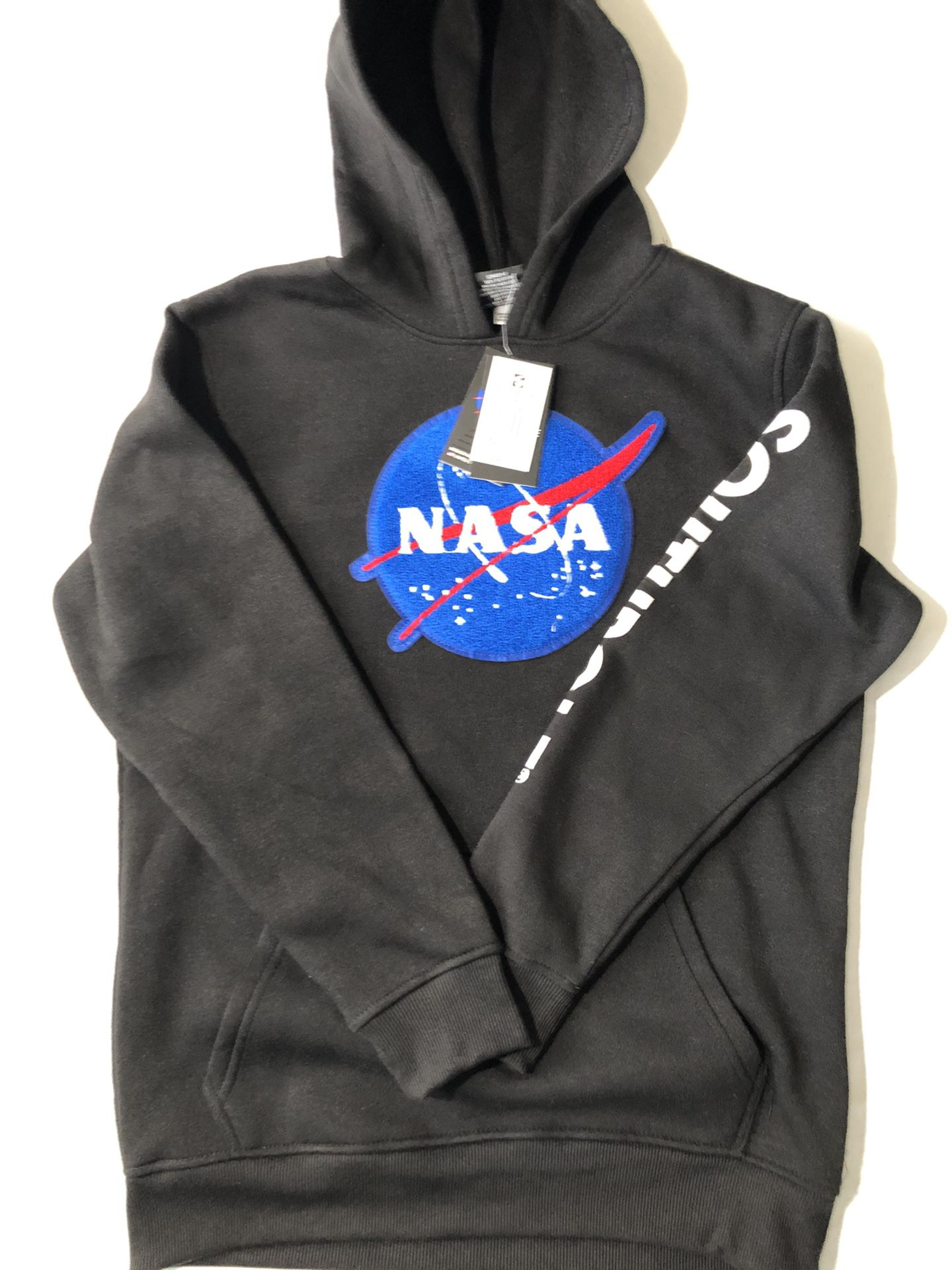 Kids Nasa Logo Hoodie size YXL