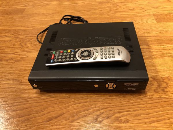 Digital satellite receiver CaptiveWorks cw -800s for Sale in Happy Valley,  OR - OfferUp