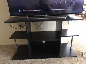 Black TV Entertainment Stand for Sale in Arlington, VA