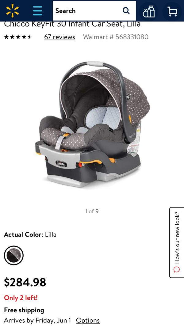 Chicco Key Fit 30 Car Seat Lilla For Sale In Las Vegas Nv