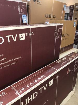 65 in LG tv for Sale in Detroit, MI