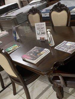 7 Pcs Dining Table  XK Thumbnail