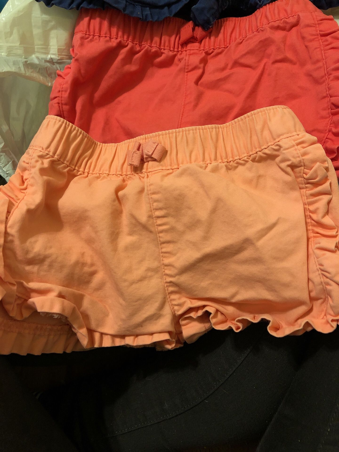 12 months shorts 8$ for all 3
