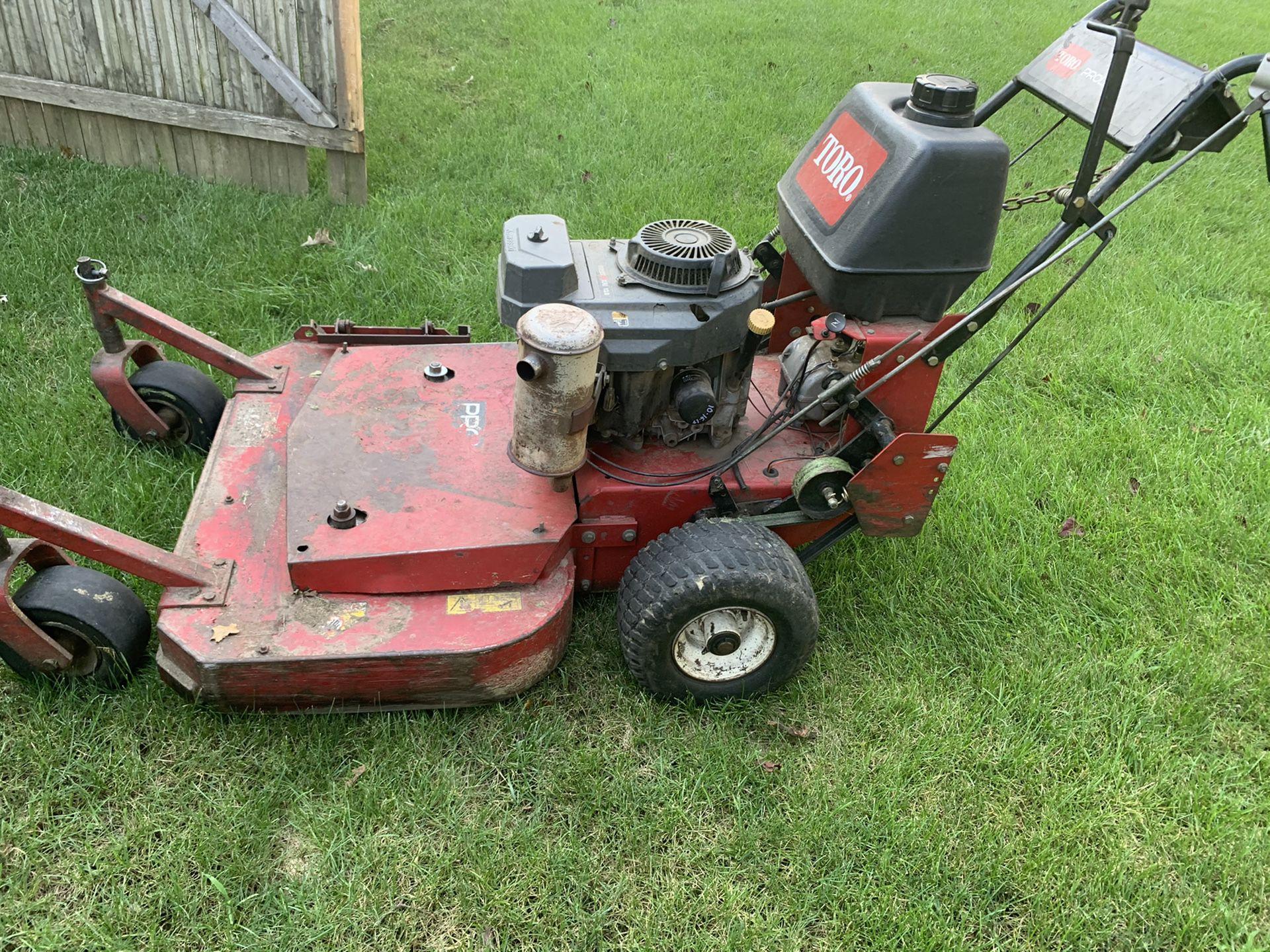 Toro mower