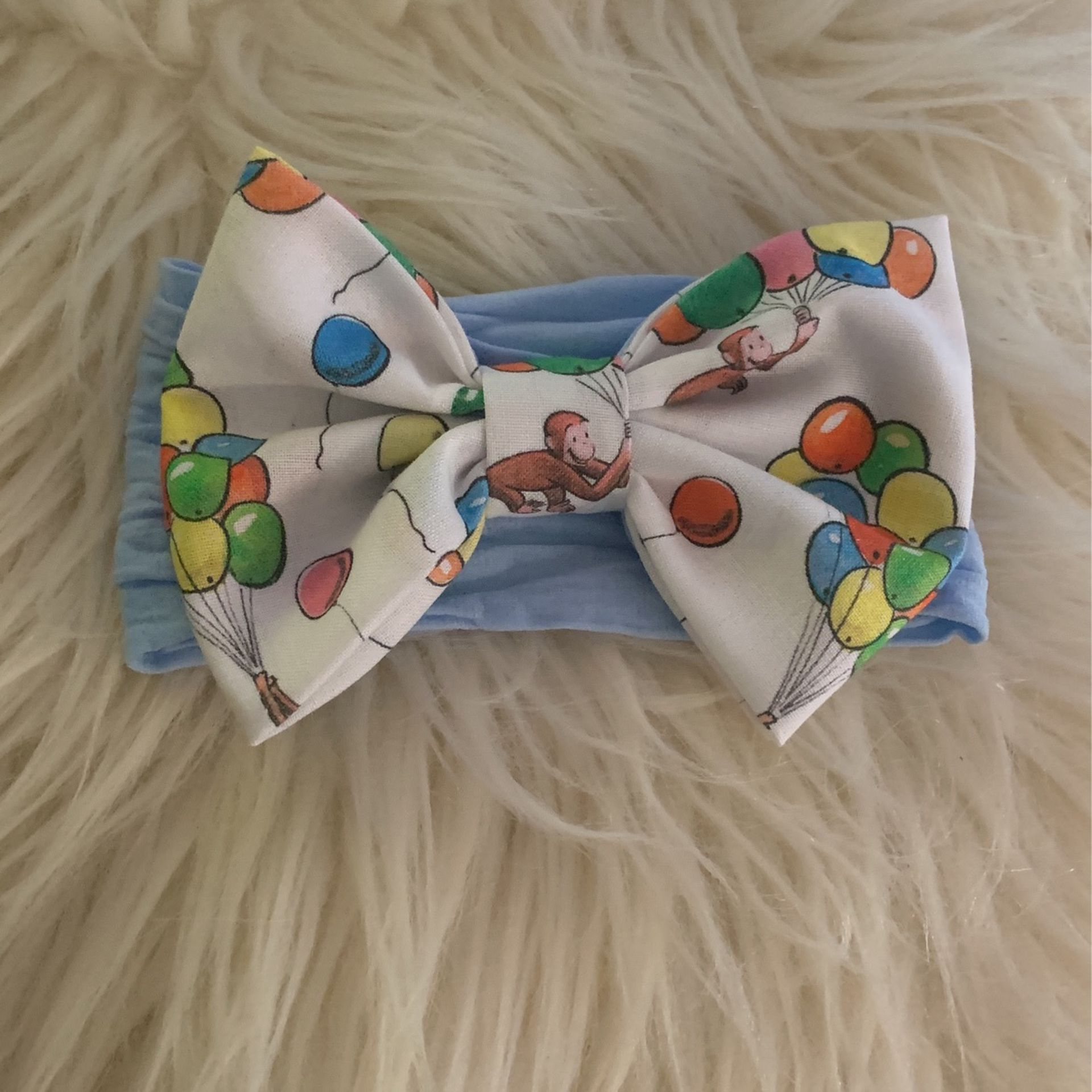 Curious George Baby Bow