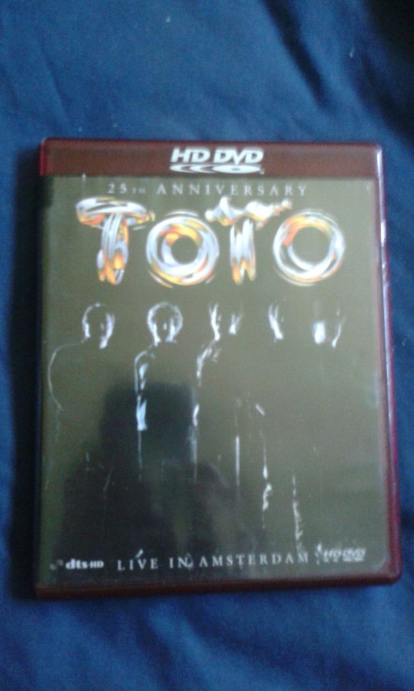 Toto: 25th Anniversary - Live In Amsterdam HD DVD for Sale in Los ...
