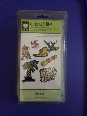 Photo New, never used Cricut Lite Cartridge Dude!
