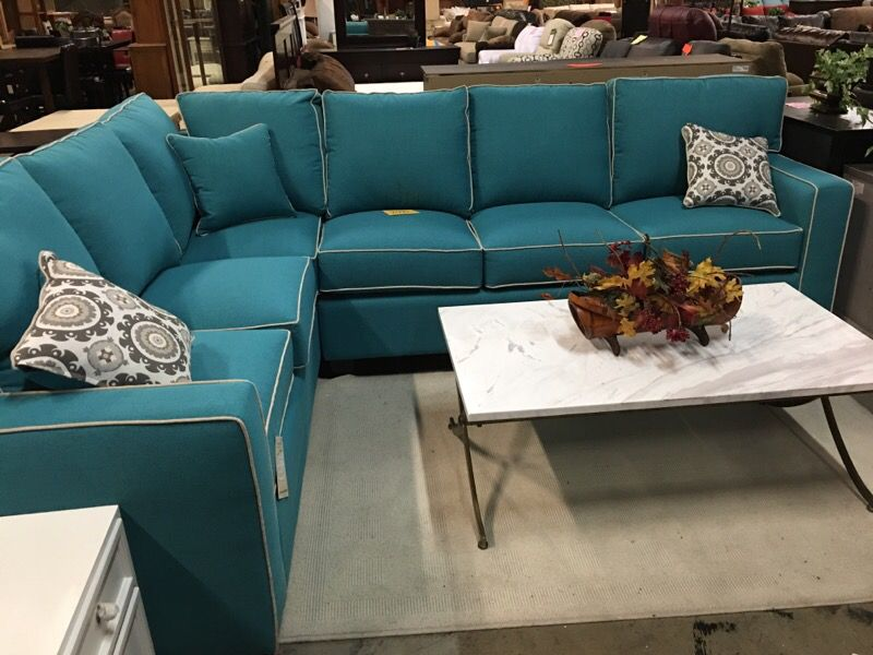 Two sofas sectional