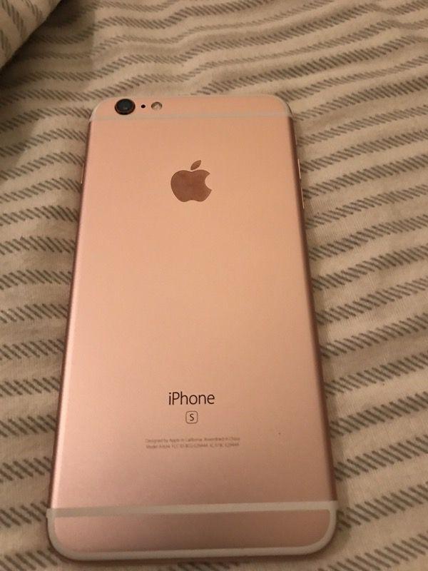 f26d3507561 Apple IPhone 6S Plus 128gb ATT Rose Gold for Sale in San Jose