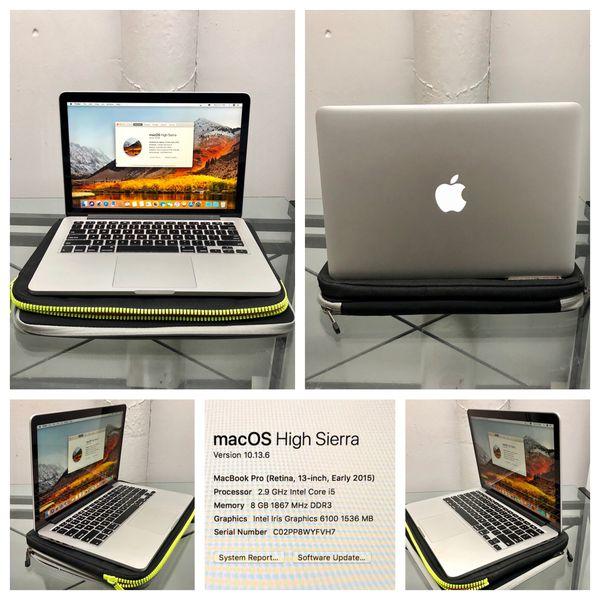 LOADED Perfect MacBook Pro Retina 8gb, 512GB, Adobe, Logic, Final Cut,  Office for Sale in Nashville, TN - OfferUp