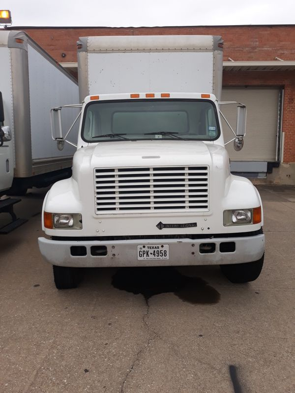 1999 International Box Truck For Sale In Arlington  Tx