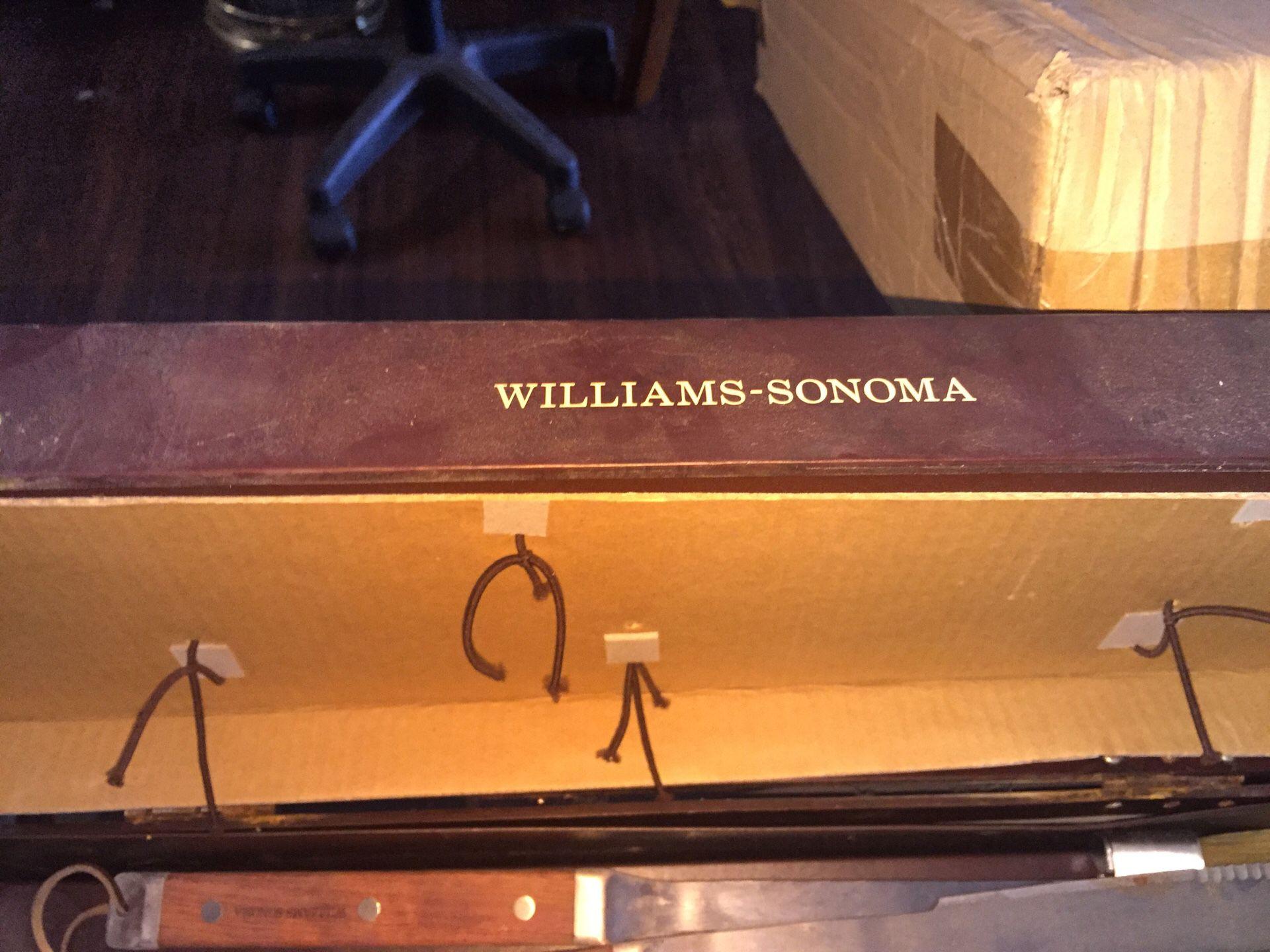William Sonoma grilling set