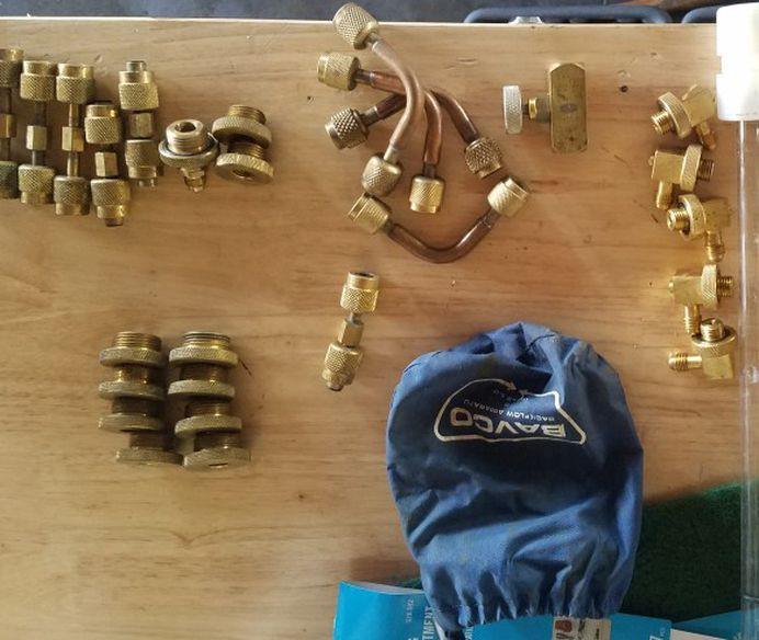 Backflow fittings And Test Tube