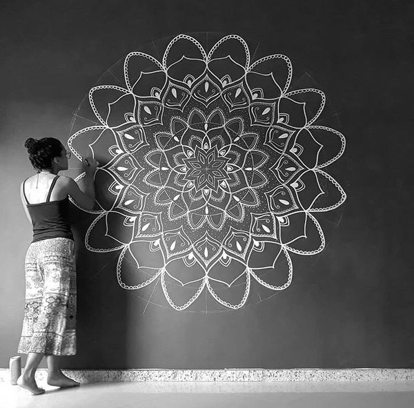 Custom Mandala Wall Painting For Sale In Mission Viejo Ca Offerup