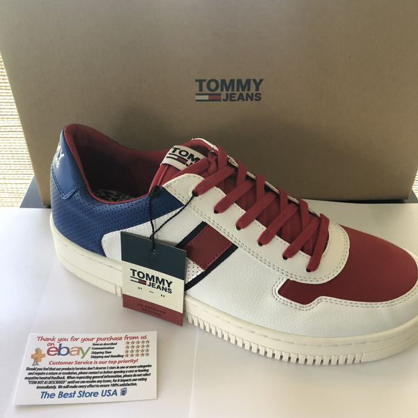 faa90910e New tommy hilfiget men leather sneaker size 11 for Sale in Parkland ...