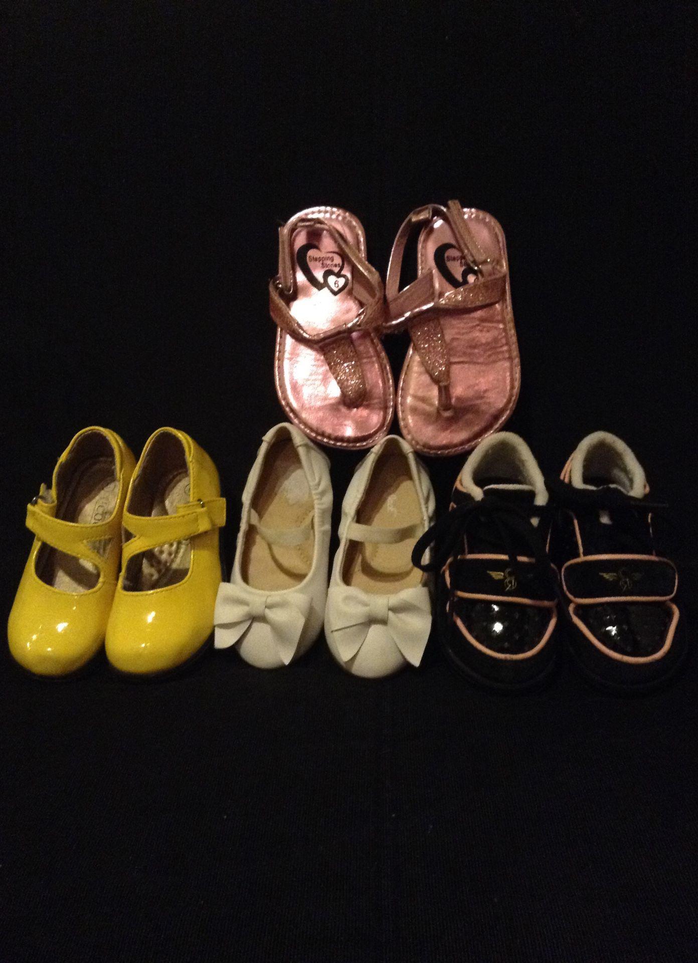 Little girl shoe lot