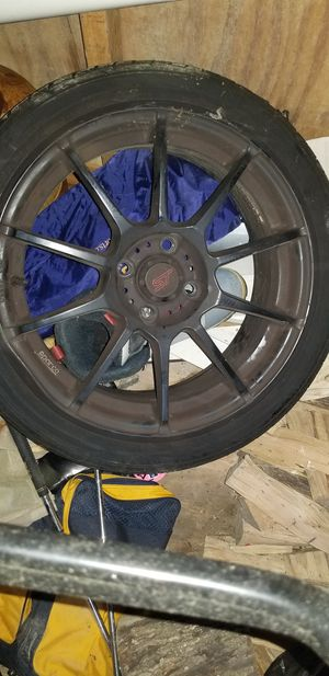 Wheels and tires for fiesta st for Sale in Arlington, VA