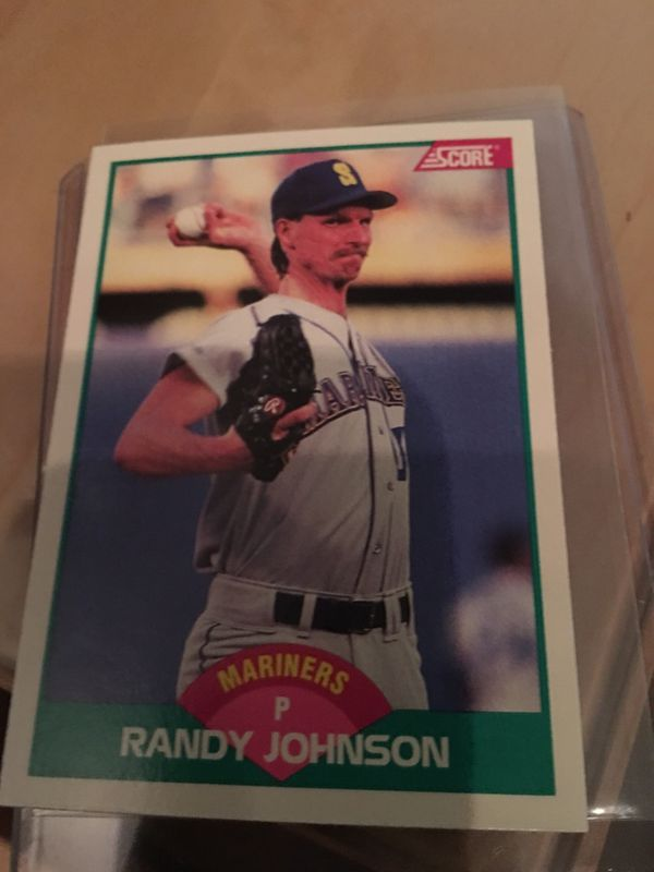 Randy Johnson 1989 Score Traded 77t Rookie Card Rc Mlb Seattle Mariners Hof For Sale In San Diego Ca Offerup