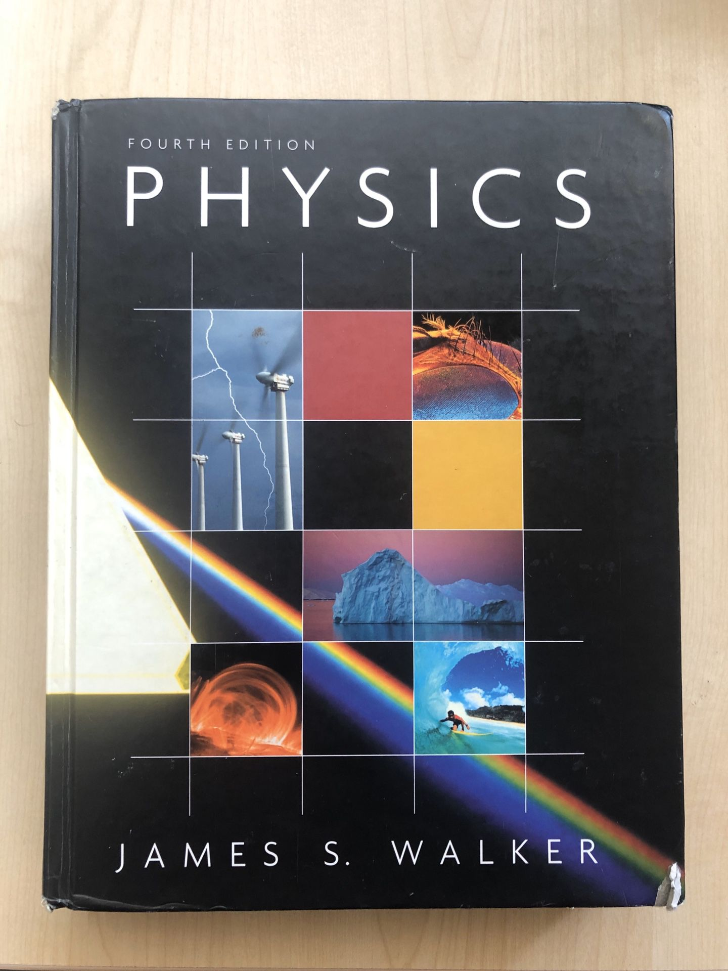 James S. Walker Physics textbook fourth edition