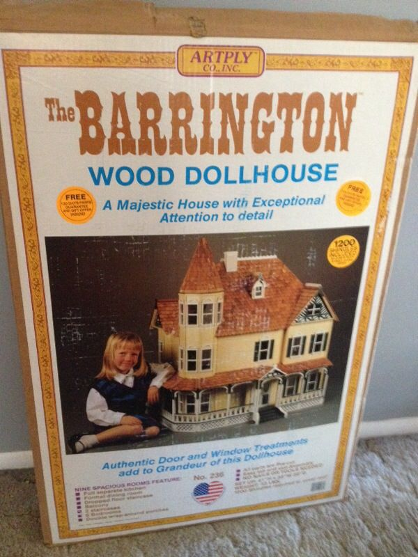 Artply Barrington Wood Dollhouse Kit For Sale In Mount Laurel Nj