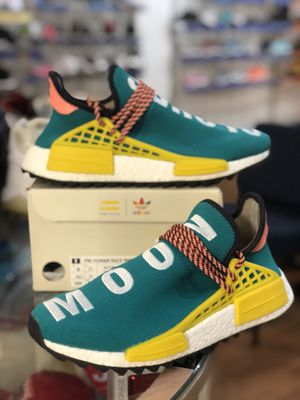 Pharrell Sun Glow Human Race Nmd size 8 for Sale in Silver Spring, MD