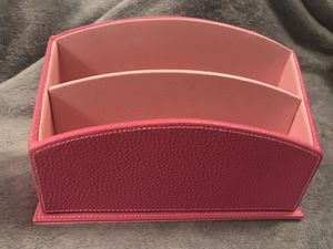 Pink desk organizer - lightly used for Sale in Sterling, VA