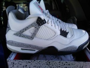 Nike Air Jordan Retro 4 White Cement size 13 2018 for Sale in Falls Church, VA