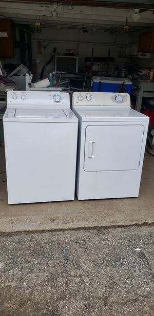 Photo Washer and dryer pair
