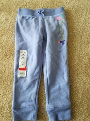 New with tags girls clothes winter fleece pant size 4T for Sale in Rockville, MD