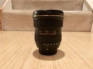 Tokina 11-16mm f/2.8 nikon lens for Sale in Oakton, VA