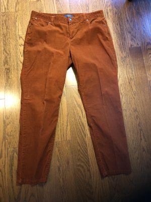 Talbots Rust Orange Cords - 14 for Sale in Centreville, VA