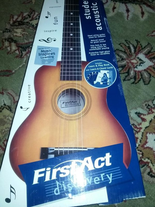 First Act Student Acoustic Guitar For Sale In Kent Wa Offerup