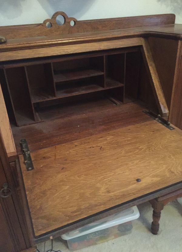 - Antique Drop Down Desk (Antiques) In Temecula, CA - OfferUp