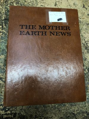 The Mother Earth news binder for Sale in Sacramento, CA