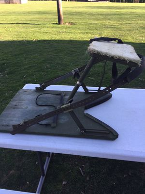 TSS climbing tree stand with seat for Sale in Butler, PA