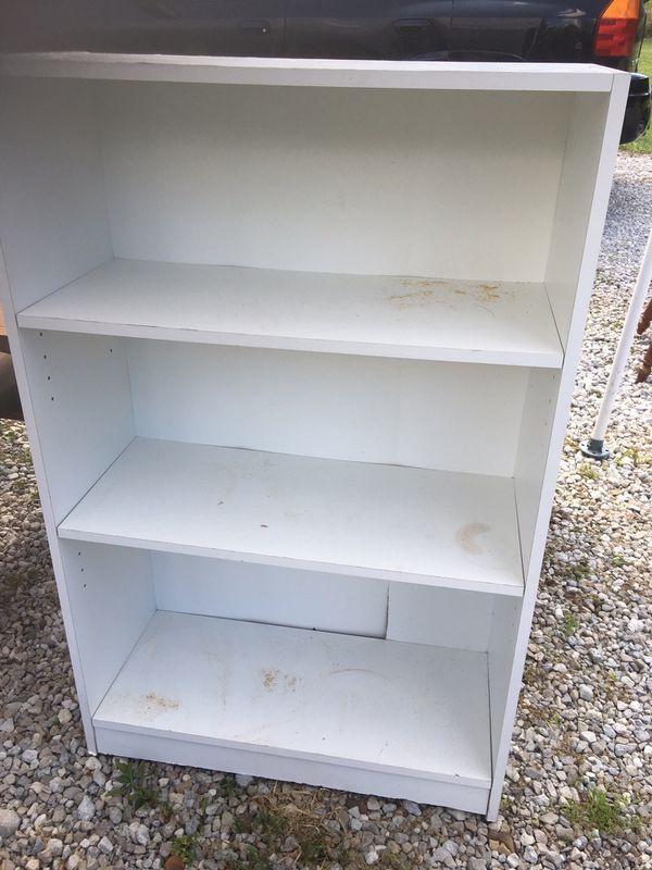 White Laminated Shelf