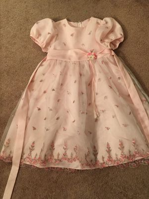 Size 6 Pink Fancy Dress for Sale in Rockville, MD