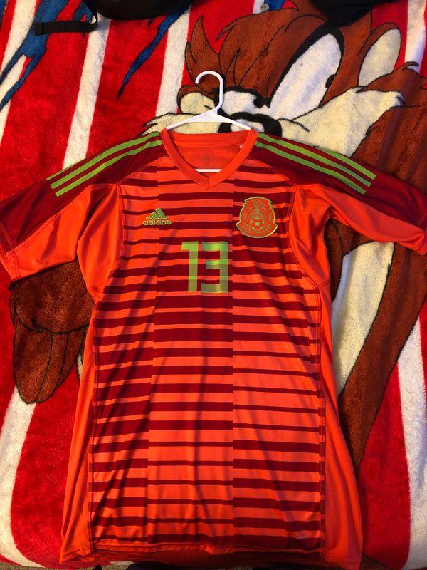 2ee0dfcd833 Adidas Mexico club America soccer jersey Guillermo Ochoa Medium. San Jose  ...