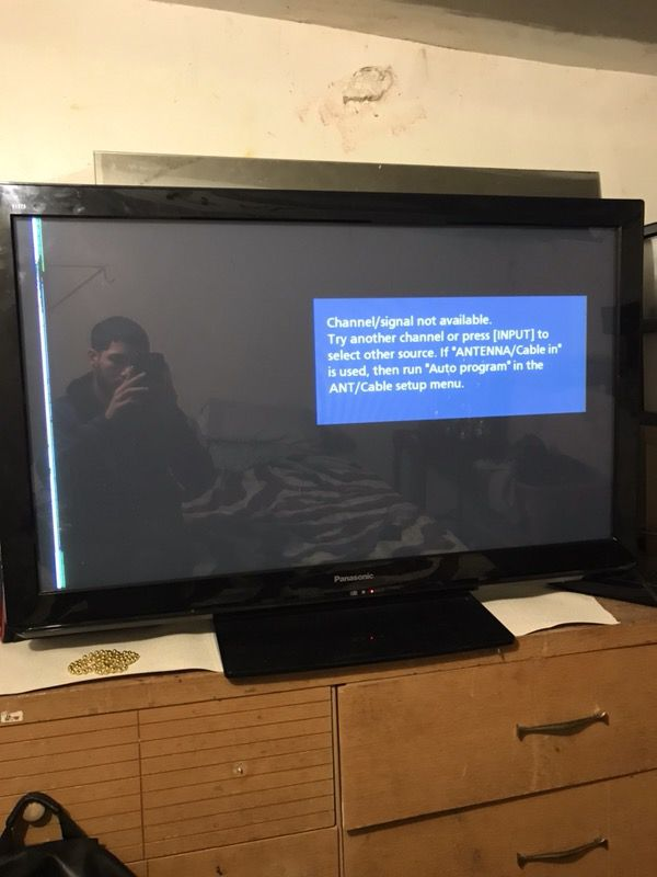 Welp 45'' inch tv Panasonic for Sale in Philadelphia, PA - OfferUp PH-85