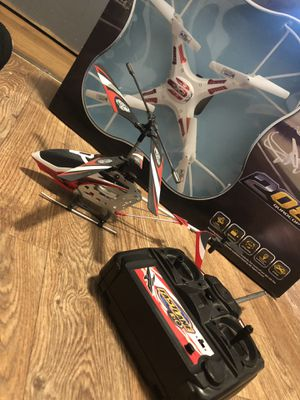 Helicopter with remote control & Drone with HD camera for sale  Tulsa, OK