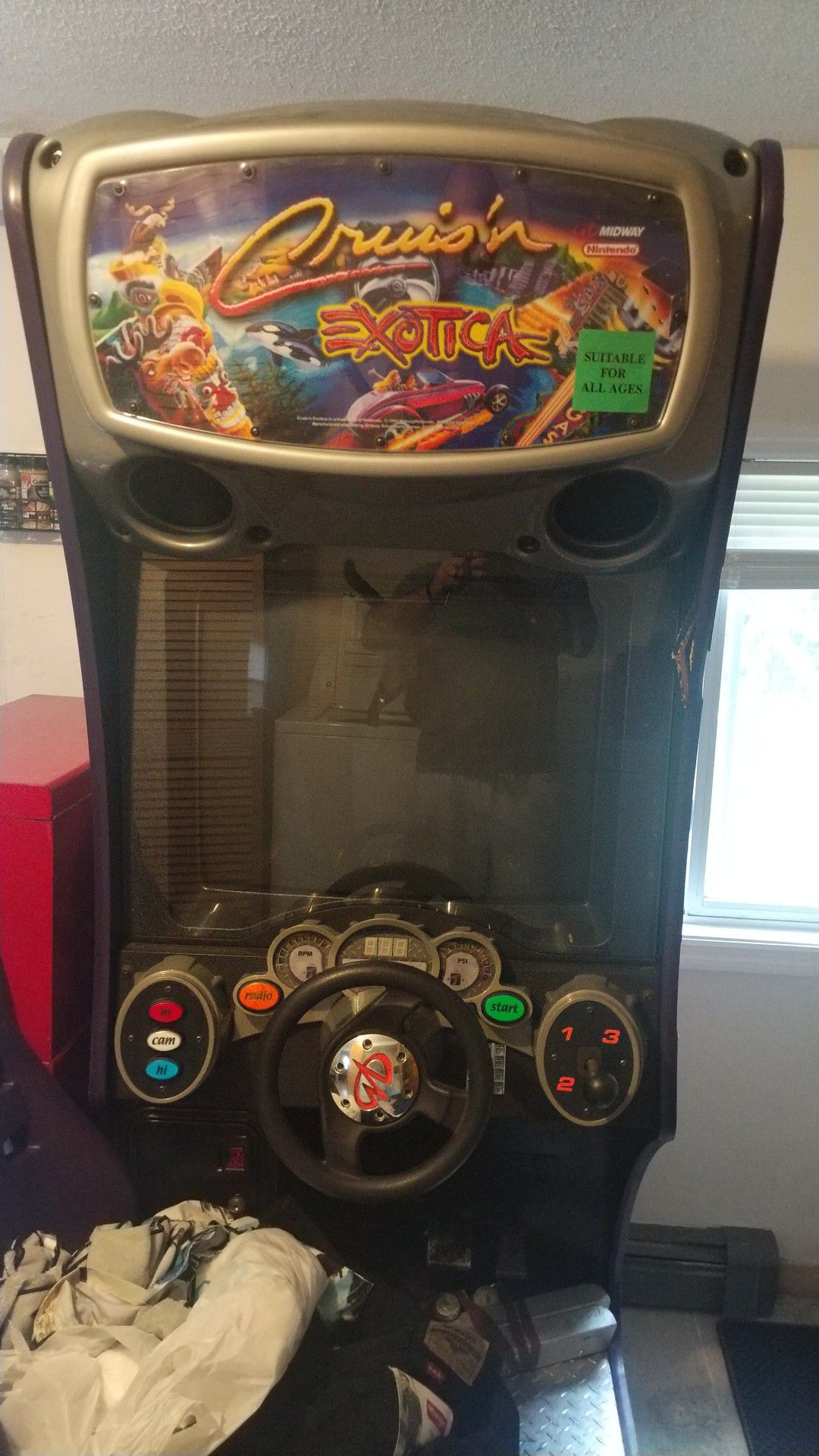 Cruisin Exotica original arcade with driver seat
