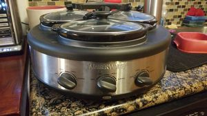 Farberware 3 pot slow cooker for Sale in Damascus, MD
