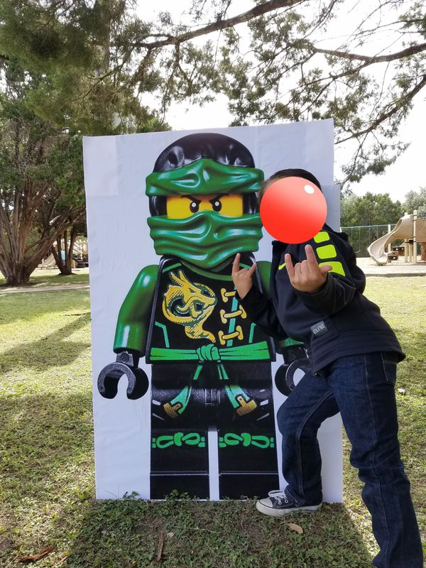 ninjago party cutout for sale in austin tx offerup