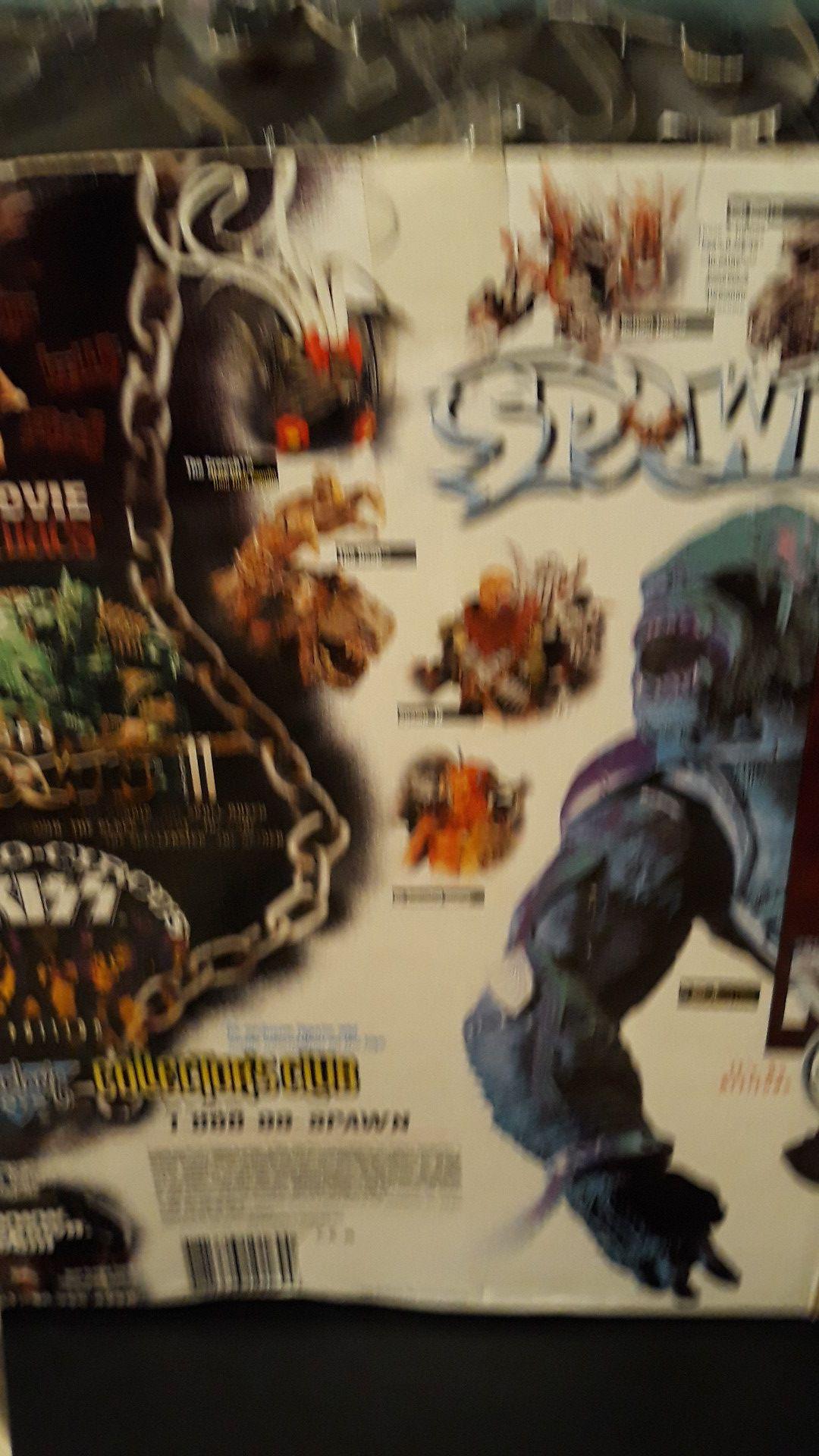 Spawn figures(Cy-Gor 2)