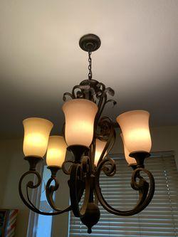 Hanging Chandelier Light Fixture Thumbnail