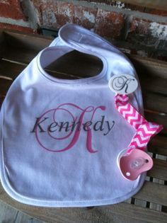 Personalized Bibs and more for Sale in Austin, TX