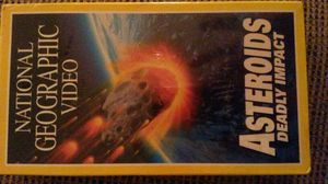 Unopened VHS National Geographic Video Asteroids Deadly Impact for Sale in Herndon, VA