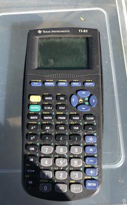 Texas Instruments TI-83 Calculator Thumbnail