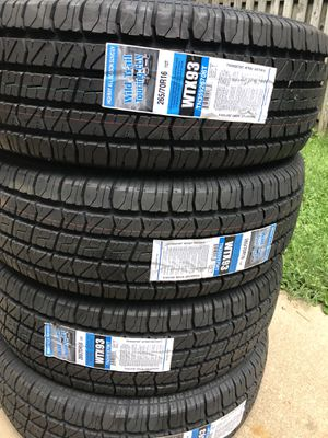 4 Brand new tires Wild Trail 265/70/16 for Sale in Herndon, VA