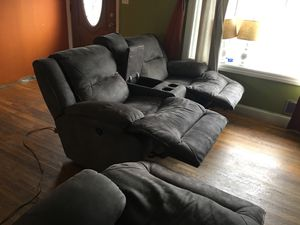 Set of sofas leather for Sale in Laurel, MD